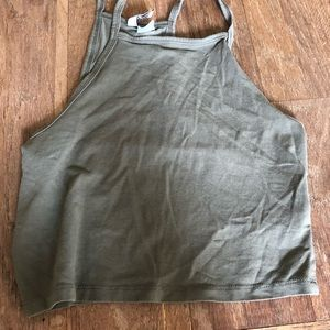 Army green tank top!